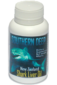 shark liver oil capsules Souther Deep